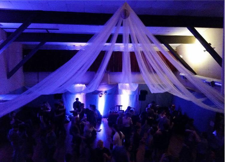 ballroom overhead shot